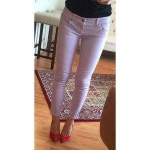 GAP 1969 Always Skinny Lilac Purple Jeans