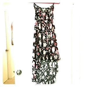 Mia Chica Dresses & Skirts - Hi-lo print maxi dress