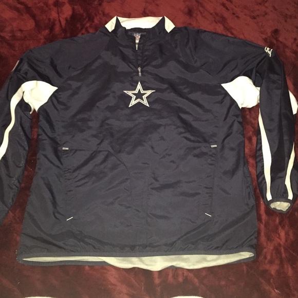 timeless design fbbd7 d84df Dallas Cowboys NFL windbreaker