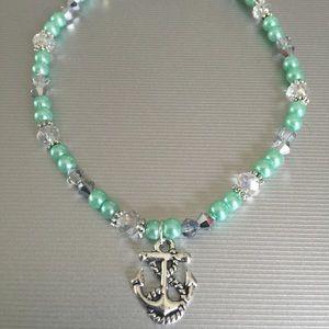 Jewelry - Handmade stretch ankle bracelet