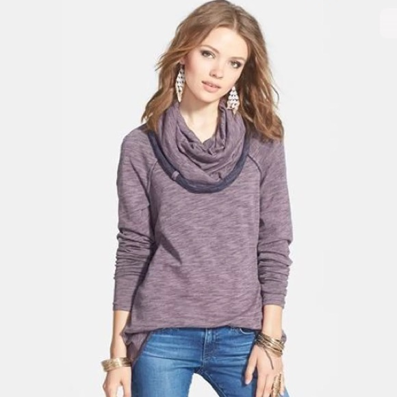 54% off Free People Sweaters - Free People beach cocoon cowl neck ...