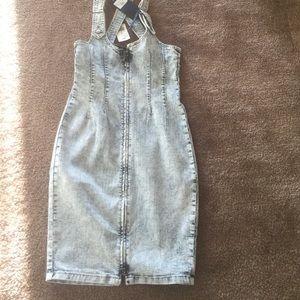 Dresses & Skirts - Sexy zipper Jean dress