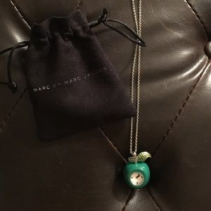 Marc Jacobs apple necklace