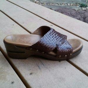 Dansko Shoes - Brown Leather Dansko's for @raekniki