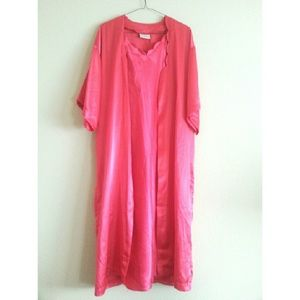 Other - 2 pc. Hot Pink Nightgown