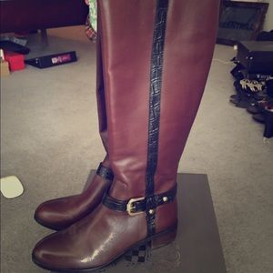 Vince Camuto Two Tone Boots w/ Box