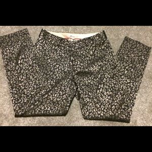 Banana Republic cheetah print ankle pants