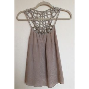 HY & DOT Silk Tank Top