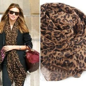 Accessories - Cheetah Scarf