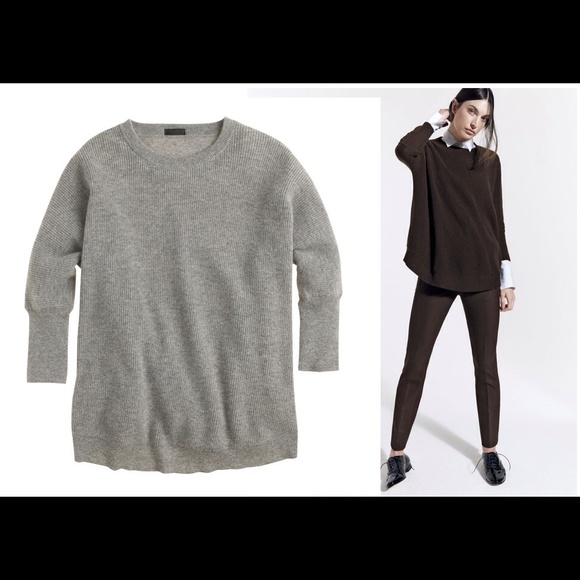 57% off J. Crew Sweaters - J.Crew COLLECTION CASHMERE SWEATER XS ...