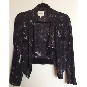 SILENCE + NOISE Silk Jacket