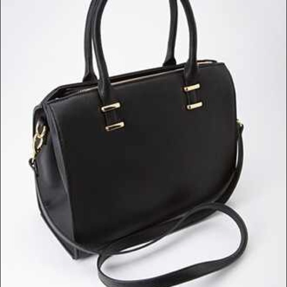 Forever 21 - 🔳 embossed faux leather satchel from Alyssa's closet ...