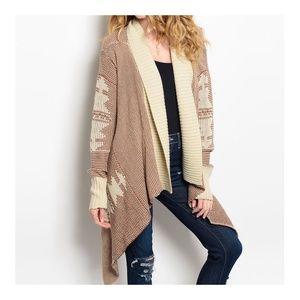 Sweaters - FINAL SALE || Aztec CARDIGAN