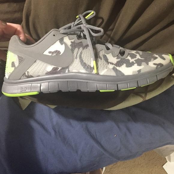 ad2d32541d18e Nike Shoes | Free 30 Camo Sneakers | Poshmark