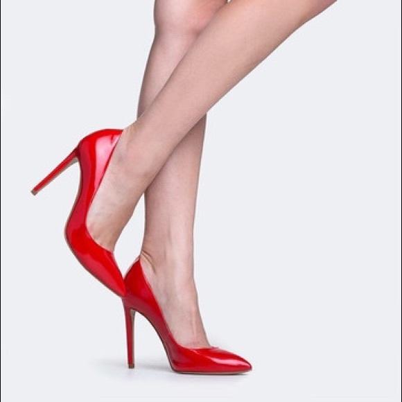 Steve Madden Red Shoes Women S   Inch Heel