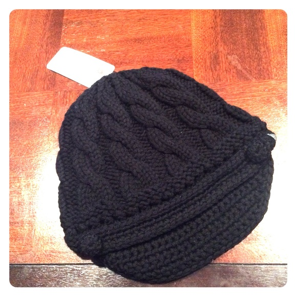 660bcb05 REI Accessories | Winter Hat Nwt Black | Poshmark