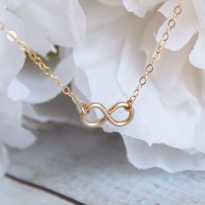 Tiny Infinity Symbol Necklace