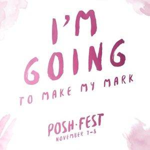 Poshfest here I come!