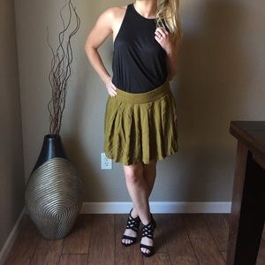 Olive Green Old Navy Casual Skirt