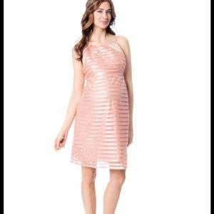 Ivy & Blu Spaghetti Strap Maternity Dress
