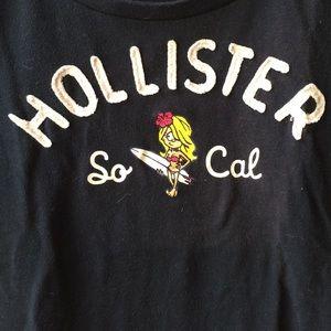 67005b2fad Hollister Navy Surfer Girl T-Shirt