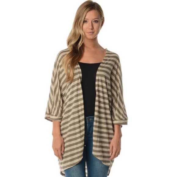 0b49781508e 🎉HOLIDAY SALE🎉 Plus size olive   taupe cardigan Boutique
