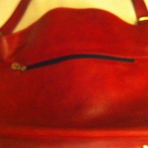 Mario Orlandi Handbags - Dark red purse