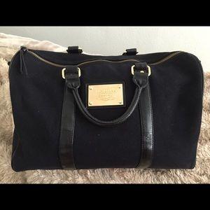 962afbd4c2d86 Victoria secret black mini duffle bag.
