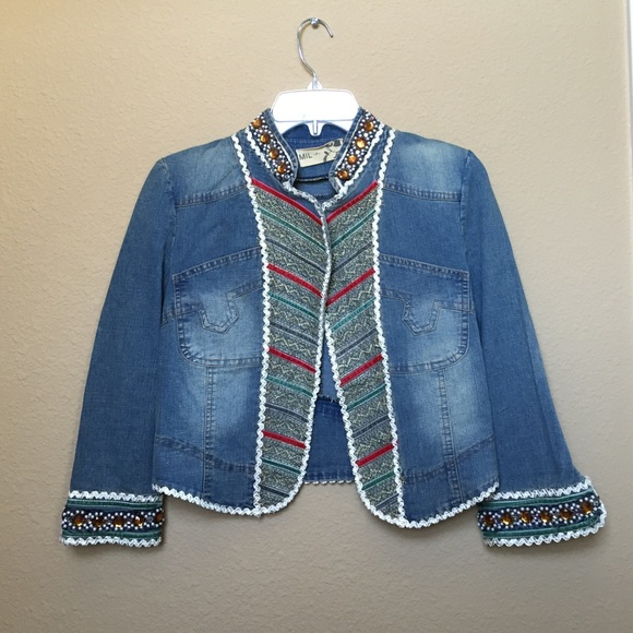 67% off Jackets & Blazers - Unique denim jacket from Lacy's closet ...