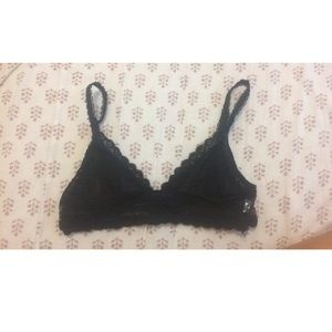 8247595f86bbe Anemone Other - Black lace bralette