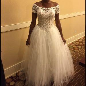 Venus Wedding Dress Princess Bride! SZ 6 & 16