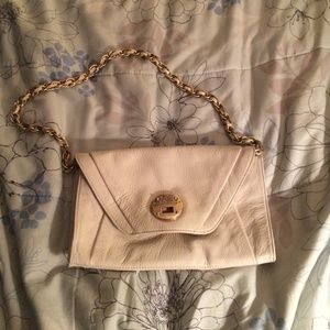 Elliott Lucca clutch with removable strap