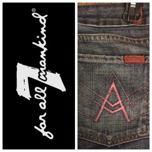 "7 FOR ALL MANKIND ""A POCKET"" DENIMS"
