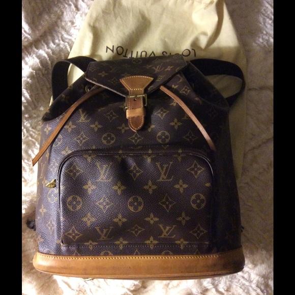 bc3fe5b3b25a Louis Vuitton Handbags - Louis Vuitton Montsouris GM Backpack