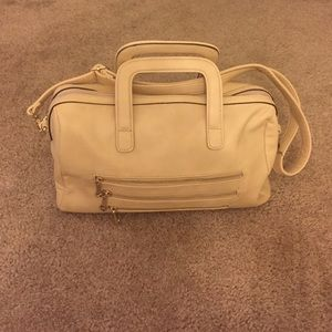Segolene Paris Handbags - Segolene Paris Cream Satchel