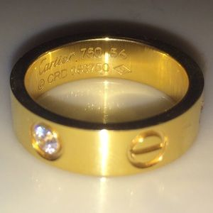 18K Gold Cartier Love Ring