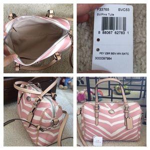 Coach Bags - Authentic coach animal print Bennett mini satchel