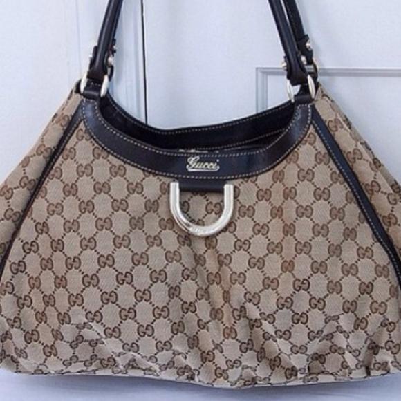 d0b74b5a8ddbd7 Gucci Bags   Gold D Ring Hobo Bag Final Sale   Poshmark