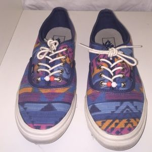 e62115737e Vans Shoes - Vans Sneakers size 9.5 Aztec Tribal design shoes