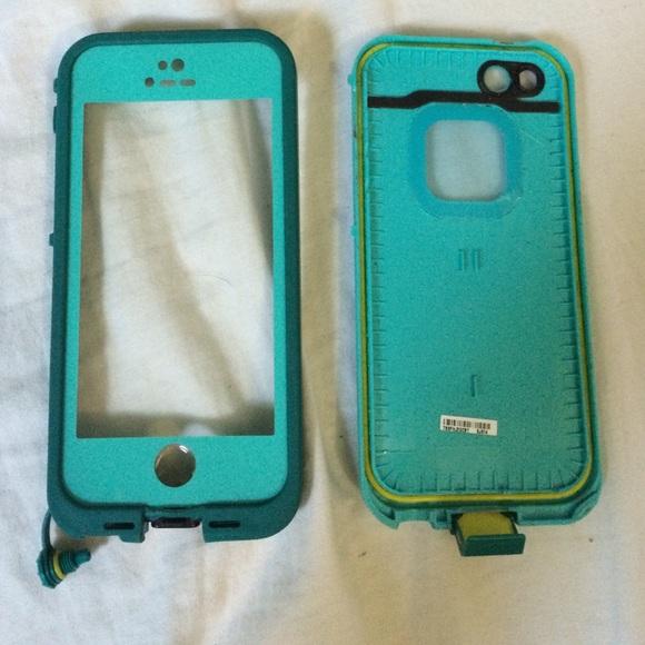 quality design 97a80 4f9e2 Blue Lifeproof Case iPhone 5s