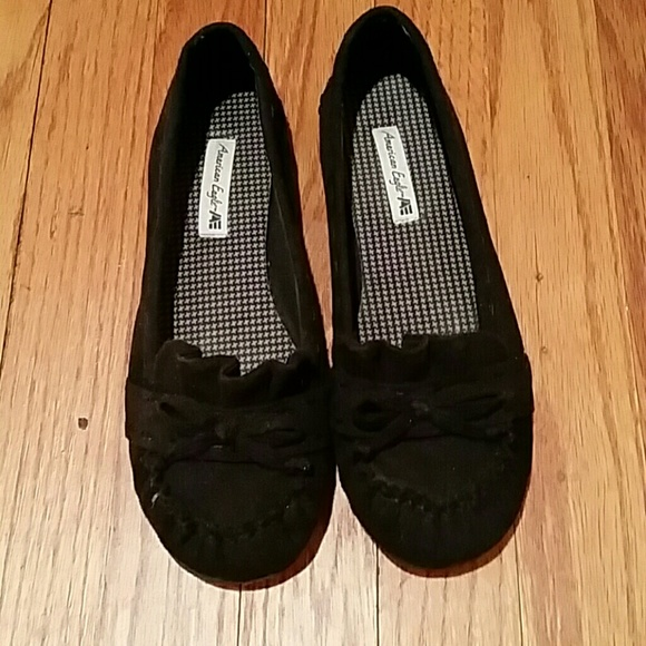 4cb543856c1 American Eagle by Payless Shoes - Black moccasins flats