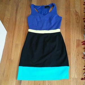 Colorblock Cynthia Rowley dress