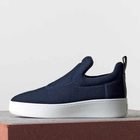 Poshmark Celine Navy Cline Pullon Shoes In Sneaker Jacquard HTf0Hg