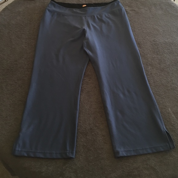 Lucy Crop Work Out Yoga Pants From Don & Terri's
