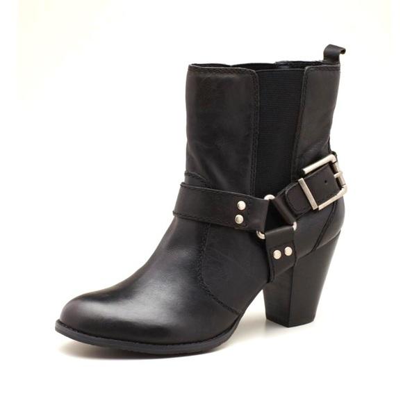 arturo chiang arturo chiang black moto ankle boots size