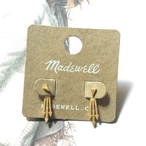 Gorgeous Madewell Arrowback Double Sided Earrings