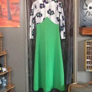 70's vintage dress