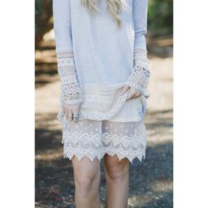 Lace Slip Dress Extender