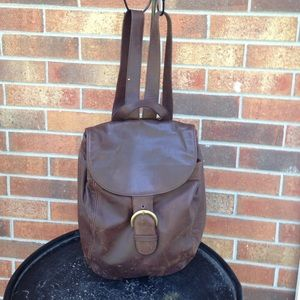 Coach Handbags - Vintage Coach Back Pack Brown Leather