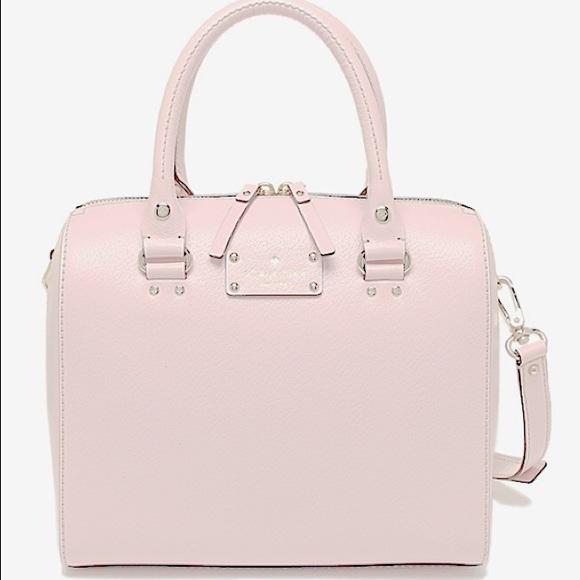 42% off kate spade Handbags - Kate Spade Satchel Leather Bag (Cute ...